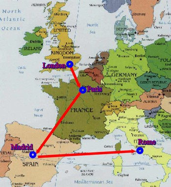 europe map cities. See the BEST of Europe with