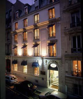 hotel chambellan morgane in paris. Black Bedroom Furniture Sets. Home Design Ideas