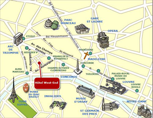Paris charles de gaulle international airport maps and directions