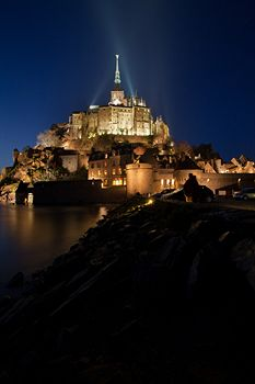 hotel le aubert in the mont st michel