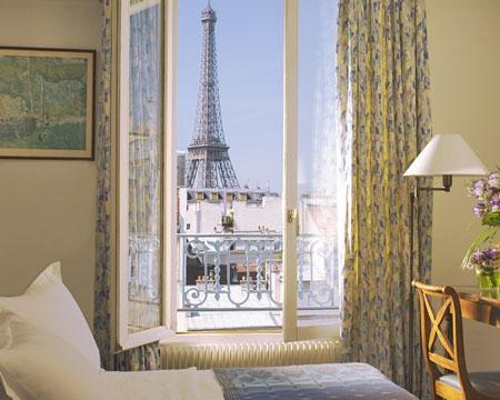 Hotel jardins d 39 eiffel paris france for Hotel les jardins paris