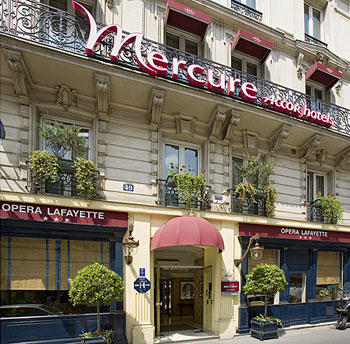 Hotel Brittany Opera Paris