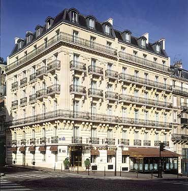 hotel splendid etoile in paris