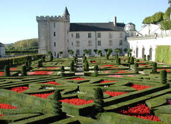 Chateau de Villandry - Loire Valley