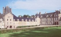 Chateau de Canisy in Normandy