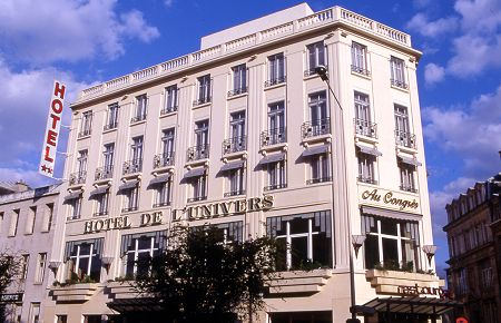 Grand hotel de l 39 univers reims for 51000 reims