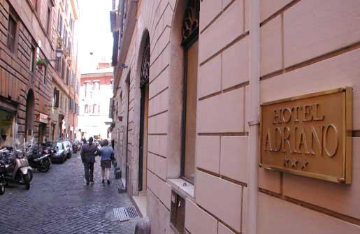 Hotel Adriano Rome Italy