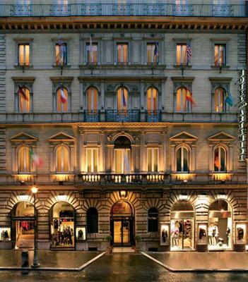 hotel artemide roma italy