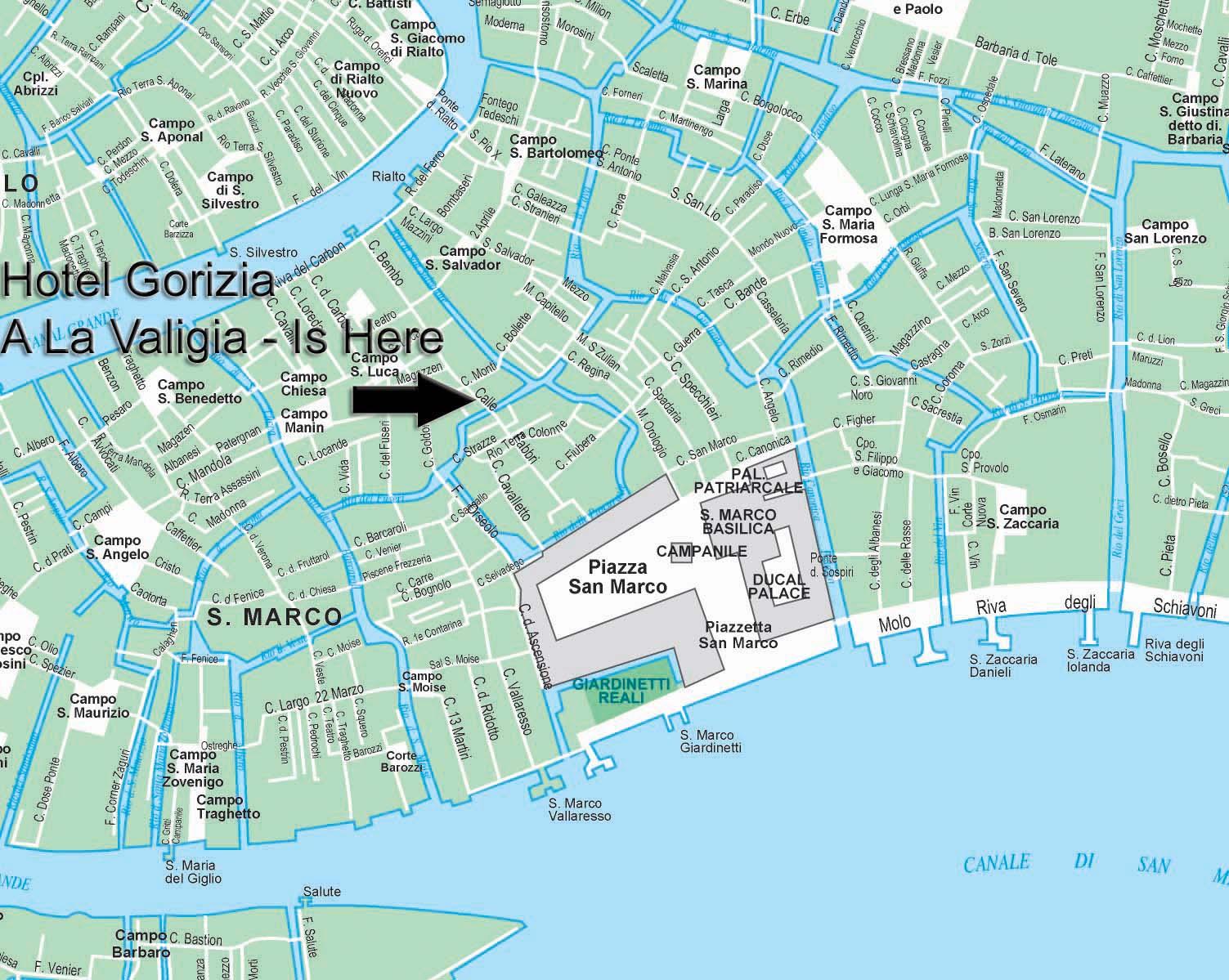 Hotel La Valigia Venezia