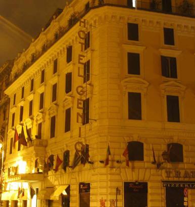 hotel genio rome: