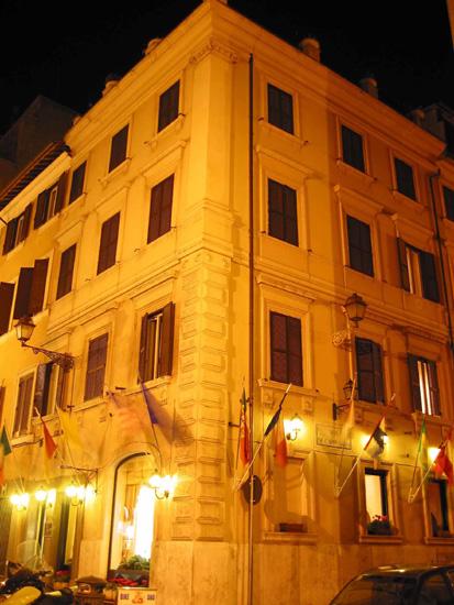 Hotel Sistina  Rome  Italy