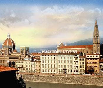 Plaza Hotel Lucchesi Florence Italy