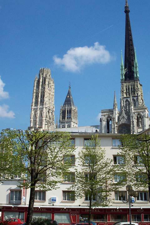 Hotel Alba Rouen France